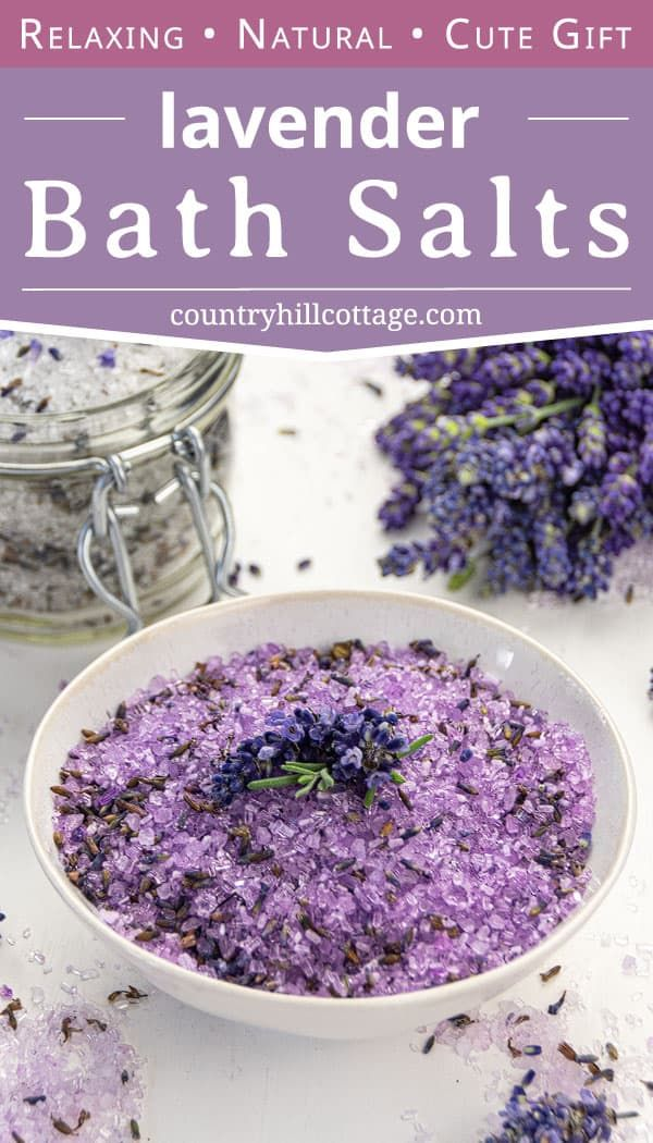Homemade Lavender Bath Salts Recipe Free Printable Labels In 2020 Bath Salts Recipe Bath Soak Recipe Bath Salts