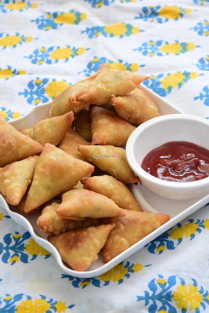 Gujarati #ChanaDalSamosa - #TeaTime #Snack #IndianFoodBlog #Farsan #MagicofIndianRasoi #MOIR Follow us on Facebook.com/MagicofIndianRasoi   Visit magicofindianrasoi.com for written recipes