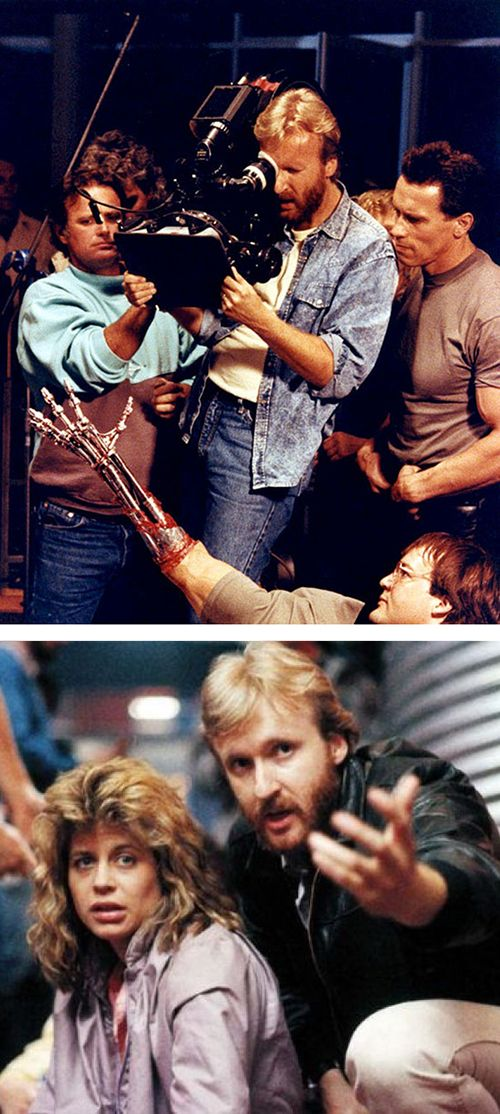 James Cameron - Terminator behind the scenes. I cannot express enough the surprise and shock of the First Terminator movie. I was blindsided and riveted. A classic, delivered by a genius, of sorts.