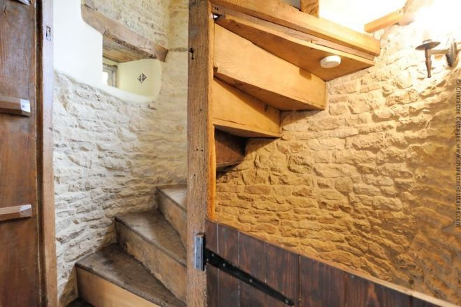 Best The Old Wooden Spiral Staircase Spiral Staircase For 400 x 300