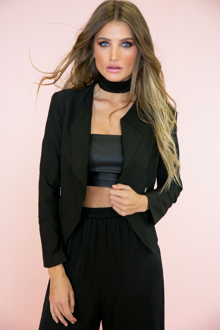 Architectural Jacket - Black – Haute & Rebellious