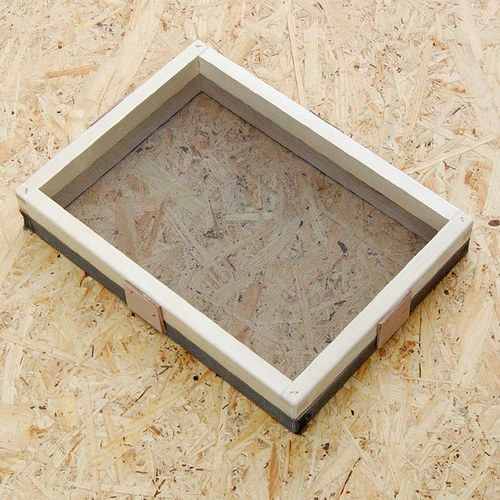 Rámeček na výrobu ručního papíru A3