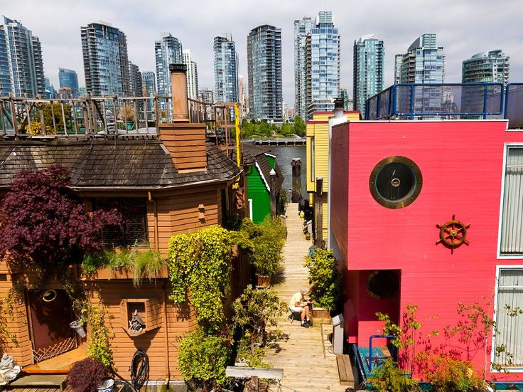 Granville Island, Vancouver: A 37-acre industrial wasteland until the late 1970s, Granville Island is today one of Vancouver's greatest assets. Built upon two giant tidal flats that jut above False Creek, the area was transformed into a creative oasis—home to glassblowers' and potters' studios, farmers markets, theaters, and hotels. Photograph by Susan Seubert. September 3, 2013