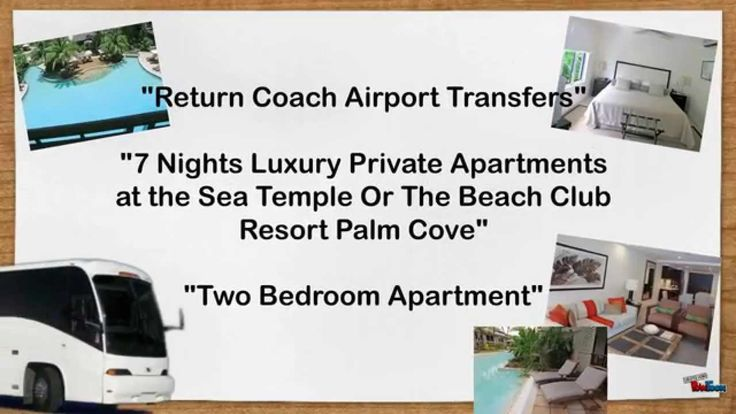 #PalmCoveAccommodation - Resort, Reef & Rainforest, Family TourLearn more about the Palm Cove - Resort, Reef & Rainforest, Family tour Holiday Package at http://www.fnqapartments.com/ or call 1300 731620 for more info