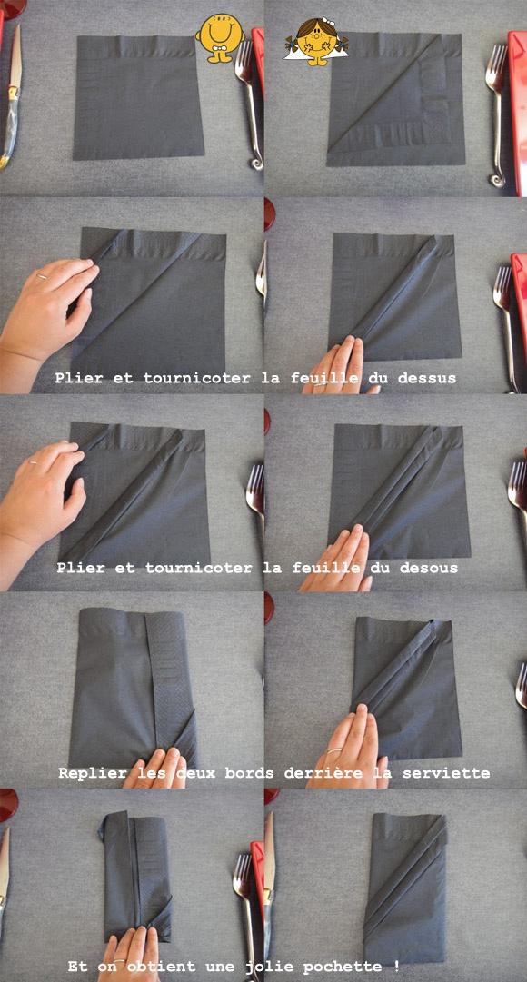 37 best pliages de serviettes images on pinterest napkin folding form of and napkins - Pliage serviette mariage ...