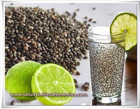 Chia y limón - Baja esos kilos de más con esta dieta natural