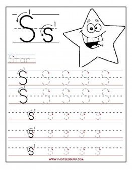 Free Printable letter S tracing worksheets for preschool. Free connect the dots learning upper and lowercase letters worksheets for kids #Alphabet #worksheets #preschool #lettertracing #handwritingworksheets #Firstgraders #kindergarten #uppercaseletter #lowercaseletter #Educational