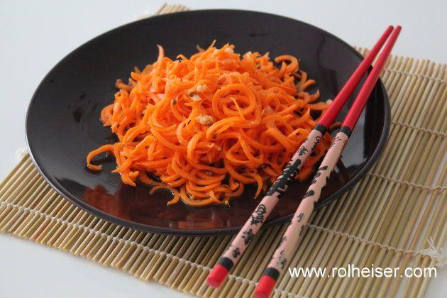 Морковь а ля по-корейски