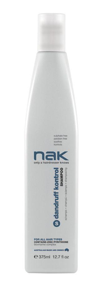 nak dandruff kontrol shampoo / designed for all hair types #sulphatefree #parabenfree #soothes #kontrols