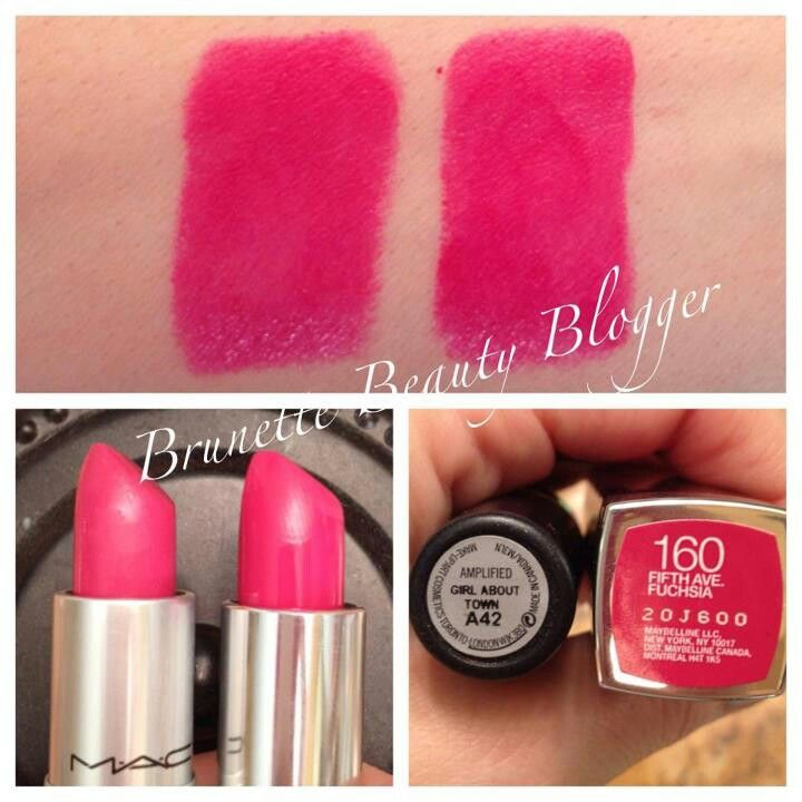 MAC Girl About Town - Maybelline Color Sensational 5th Avenue Fab