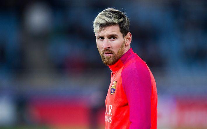 Download wallpapers Lionel Messi, 4k, portrait, Argentinian football player, soccer star, Leo Messi, Barcelona FC, Spain #futbolmessi