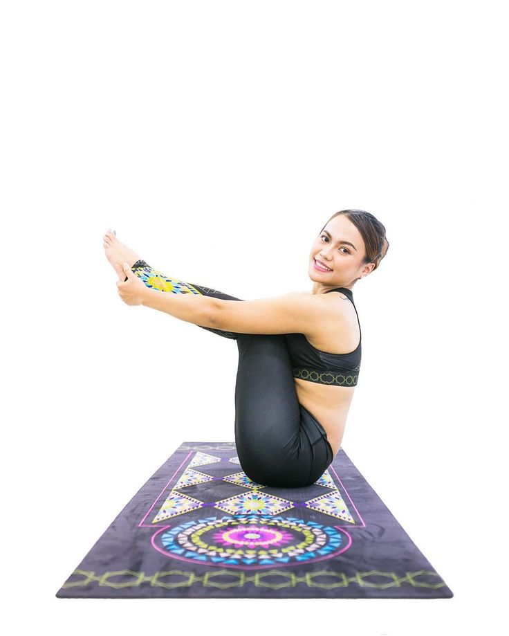 Marrakesh Noir Yoga Mat Available at www.yoginirepublic.com
