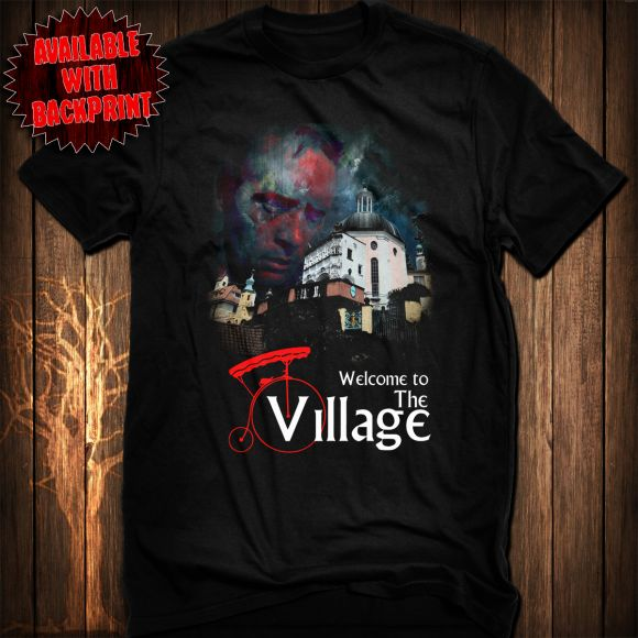 The Prisoner - Welcome To The Village T-Shirt.
