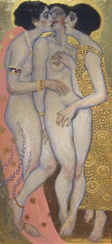 Sapphic. From Paintings - DAMIAN CHÁVEZ.