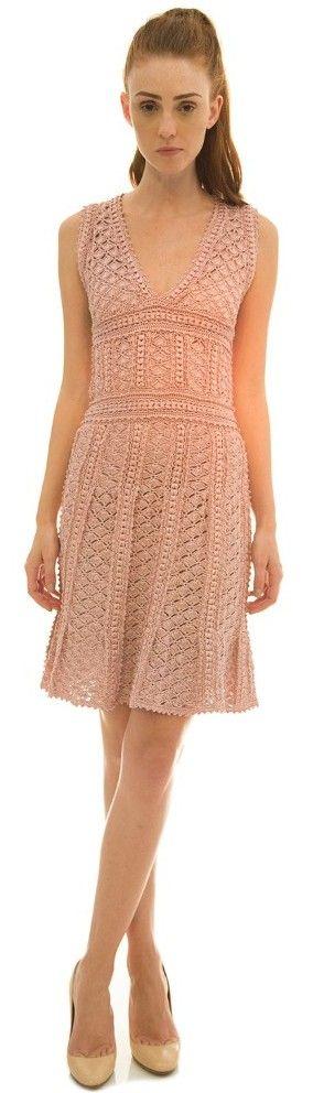 Vanessa Montoro crochet dress                                                                                                                                                                                 Más