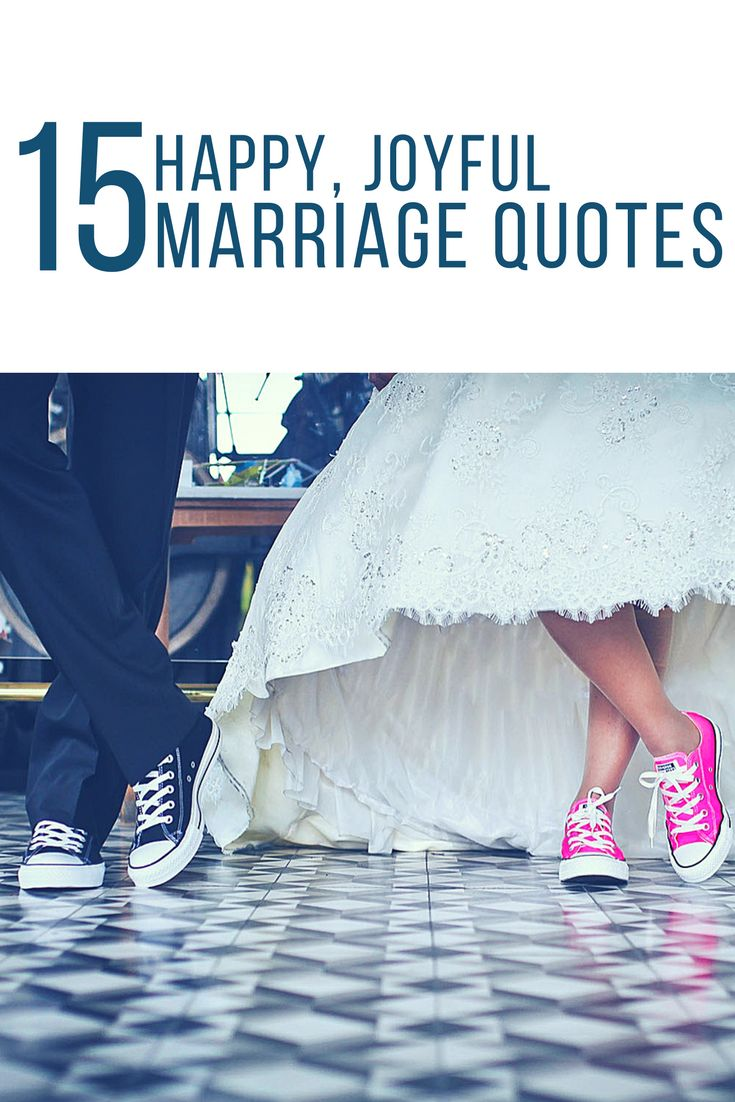 15 Happy, Joyful Quotes on Marriage - So anyway, here's some quotes (you all know my love of quotes by now) to celebrate marriage in all it's glorious, funny, sometimes annoying, beautiful forms. Love is amazing.