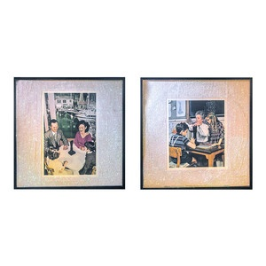 http://custard-pie.com Led Zeppelin Presence Album 2Pc, 190€, now featured on Fab.