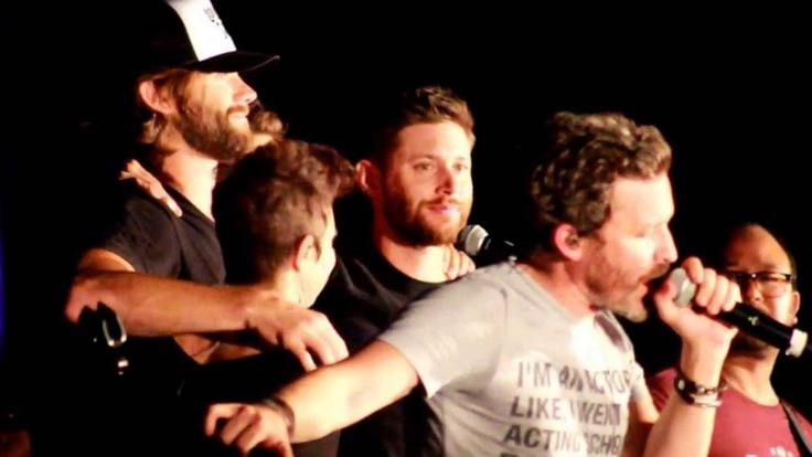 SPNPHX 2016:  Purple Rain by Louden Swain and the cast of Supernatural