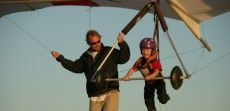 Hang Gliding Lessons for the whole family with Kitty Hawk Kites in Nags Head, North Carolina!