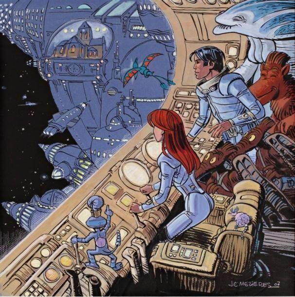 Image result for valerian graphic novel