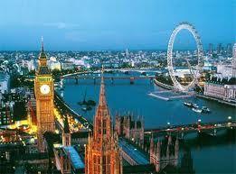 Big Ben alaturi de Roata Londrei !