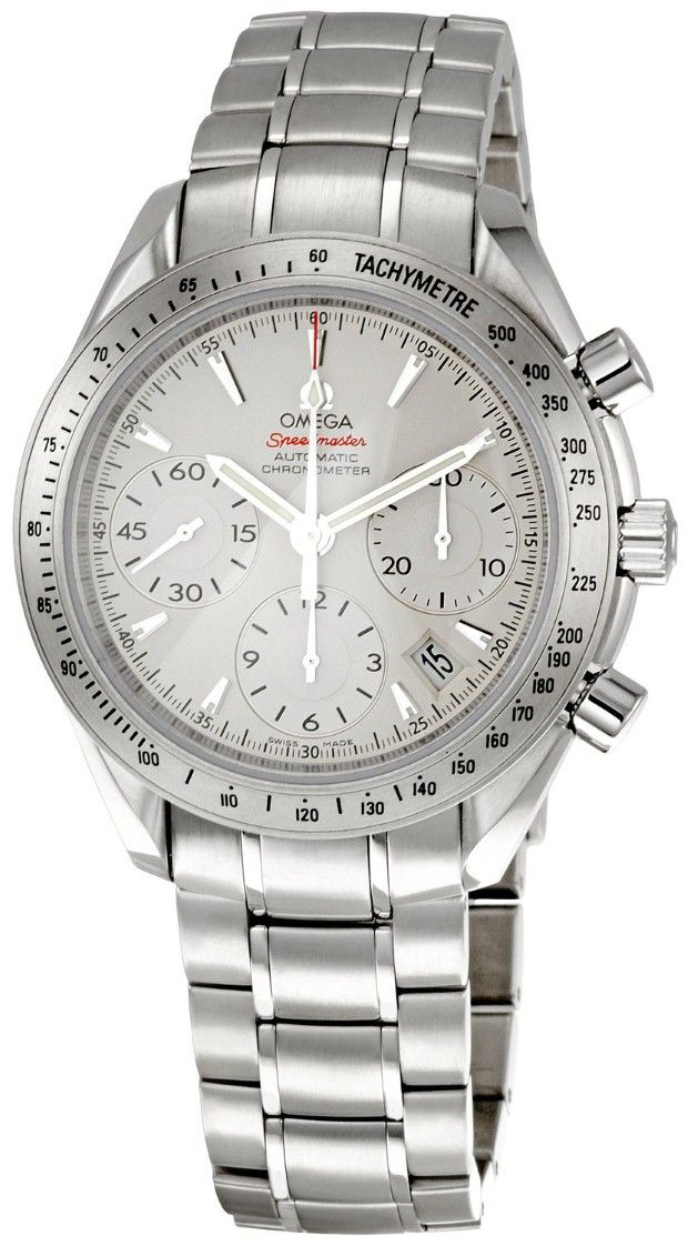 Omega men watches : Omega Men's 323.10.40.40.02.001 Speedmaster Chronograph Dial Watch (Speedmaster Reduced) my everyday watch :)