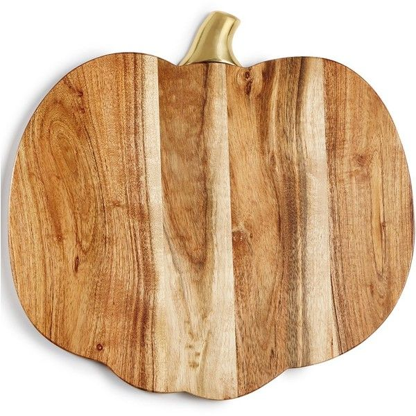 Martha Stewart Collection Harvest Wood Pumpkin Charger, Created for... ($34) ❤ liked on Polyvore featuring home, kitchen & dining, dinnerware, wood, wood dinnerware, martha stewart dinnerware, rustic charger plates, wooden chargers and wooden charger plates