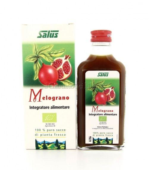 Succo di Melograno Biologico 100% puro succo di pianta fresca