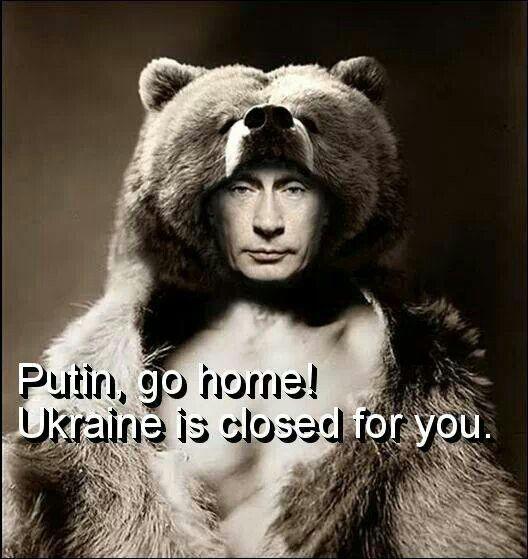 Hands off from ukraine!