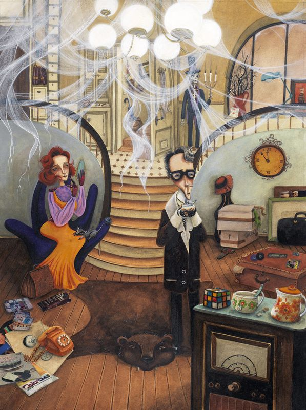 "Barbara Brun ""Le fantôme de Canterville"""