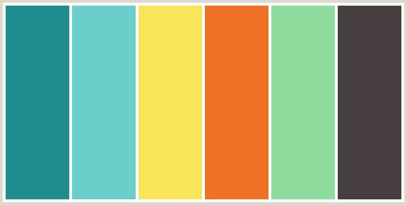 teal color palette--this would be bright and cheery.  a fav so far