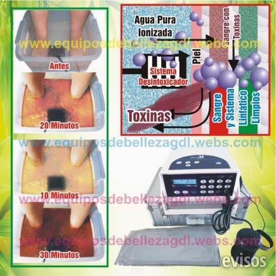 Ionizador Pies profesional con banda termica  Modelo 2016 el mas nuevo y efectivo TERCERA GENERACION. Aparato profesional  -Ideal para Spa-  Unico ...  http://guadalajara-city-2.evisos.com.mx/ionizador-pies-profesional-con-banda-termica-id-629309
