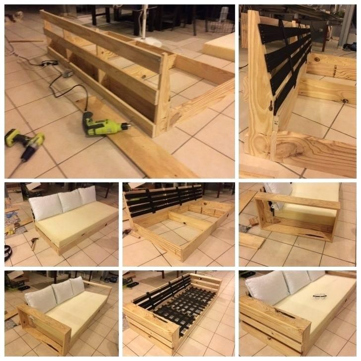 Sofa Frame Making Diy Sofa Sofa Frame Sofa Wood Frame