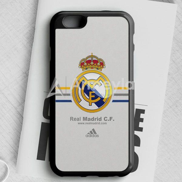 Real Madrid Club De Fútbol La Liga Spanyol Logo iPhone 6/6S Case | armeyla.com