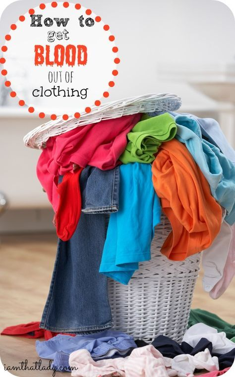 Remove Blood Stains From Clothing