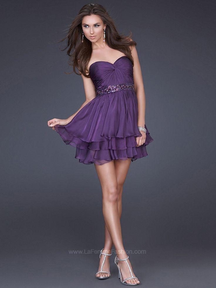 Mejores 280 imágenes de Party Dresses en Pinterest | Vestidos de ...