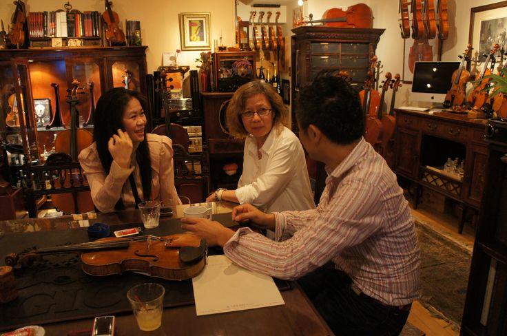 台湾の演奏家TracyさんとJanetさん