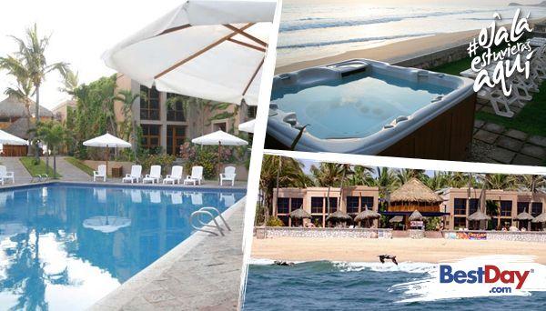 Con una privilegiada ubicación en la Zona Dorada de Mazatlán, Villas El Rancho combina los elementos de una posada mexicana, con 28 habitaciones, así como un exclusivo resort con bellos muebles artesanales, pisos de terracota y persianas tejidas. Ubicado frente al mar, Villas El Rancho con sus verdes jardínes, piscina con jacuzzi al aire libre y restaurantes de la casa, promete una estadía relajada. #OjalaEstuvierasAqui