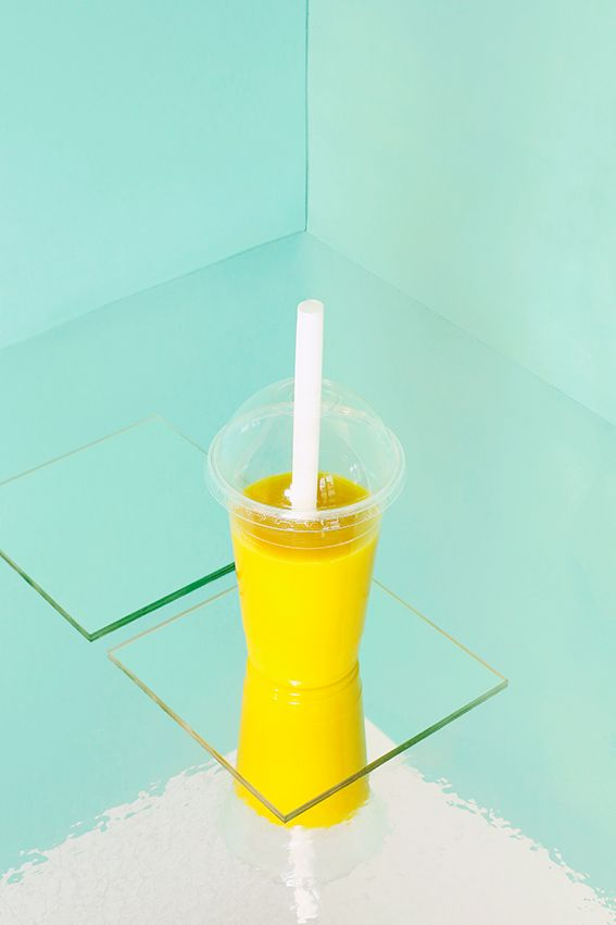 Morning smoothie - Wild Honey - 1. Smoothie mangue/passion - 2. Smoothie pomme/kiwi/ananas