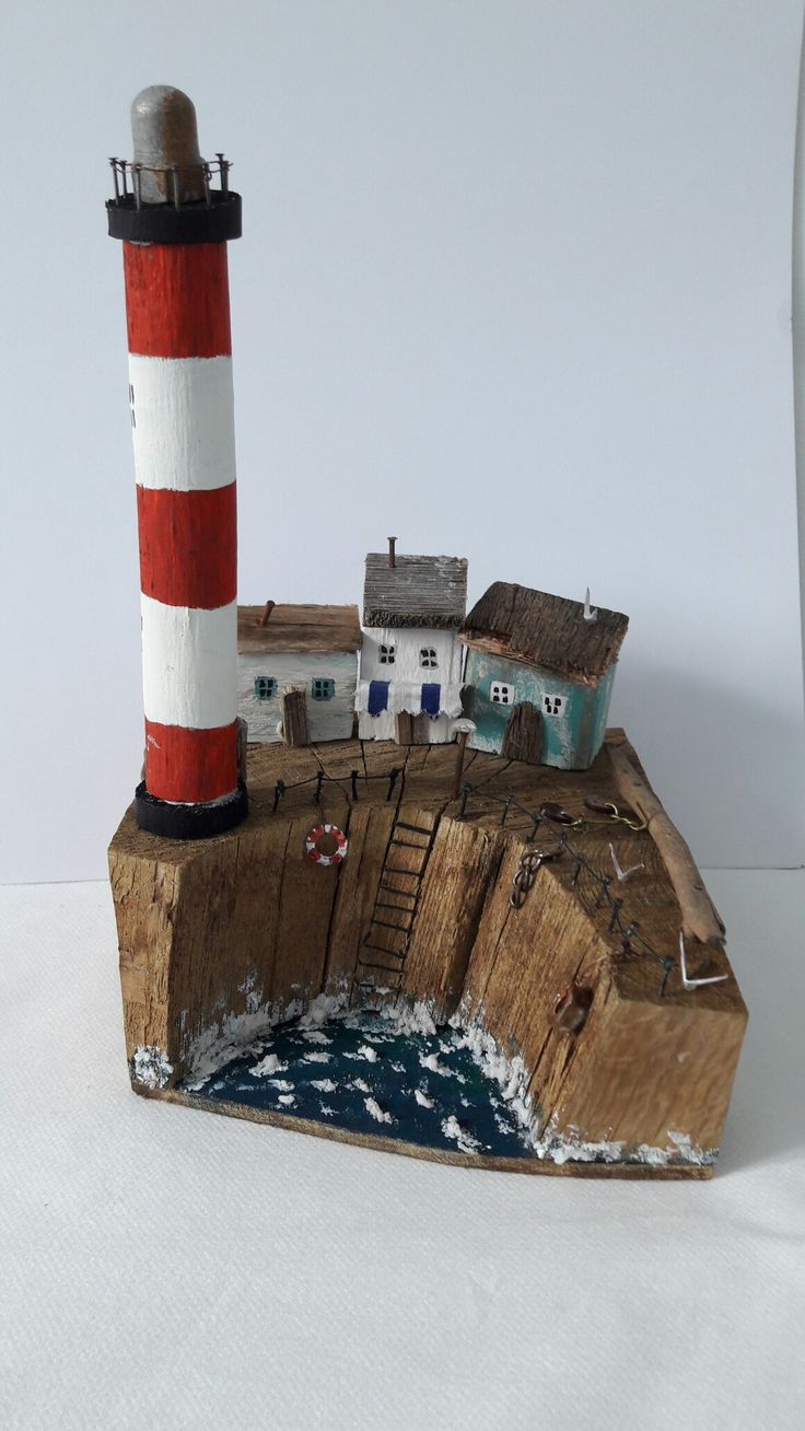 Driftwood and used stuff.