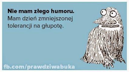 Prawdziwa Buka: Nie mam złego humoru