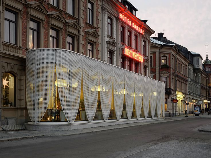 Gallery - Pavilion for Best Western Hotel Baltic / the common office - 8