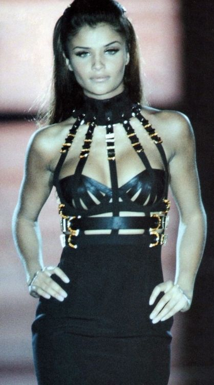 Helena Christensen x Gianni Versace Fall/Winter 1992-93