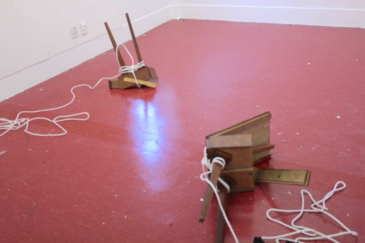 Marina Alexandrovna. installation, wood, pulled apart by peoples power