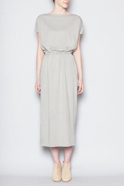 Totokaelo - Black Crane - Long Dress - Sage