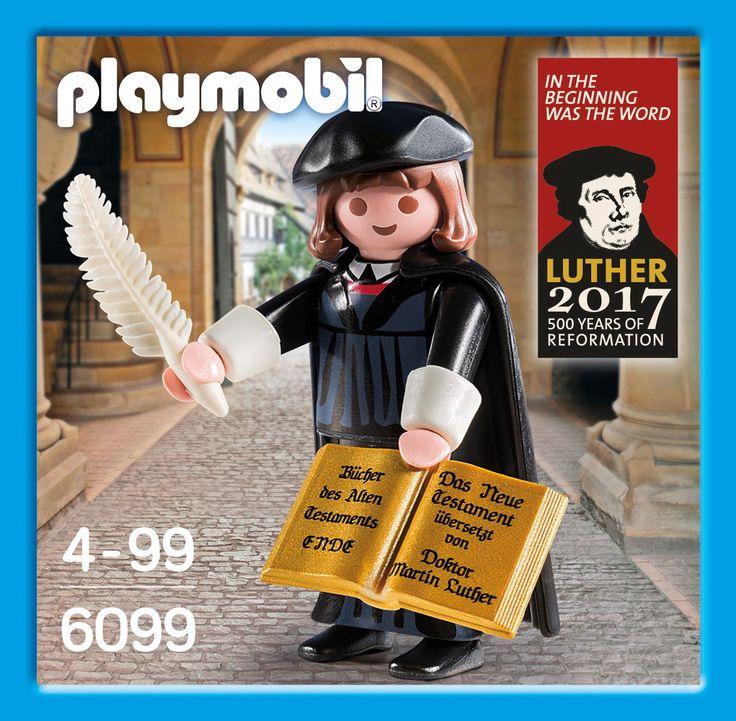 Luther Playmobil, office de Tourisme de Nüremberg