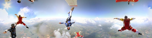360 Panorama - Free Fly Skydiving in Peronne