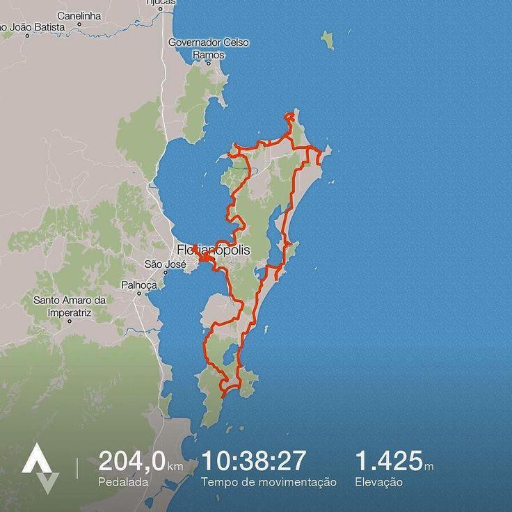 7 Volta a Ilha de bike - 204 km pedalados  #floripa #ilha #natureza #praia #mtb #ventania #pedaleiro #adventure #florianopolis #voltaailha #crazy #cansado #pedaltop #fotos #admirado #abençoado #Feliz #esconsegui #turismo #pauleira