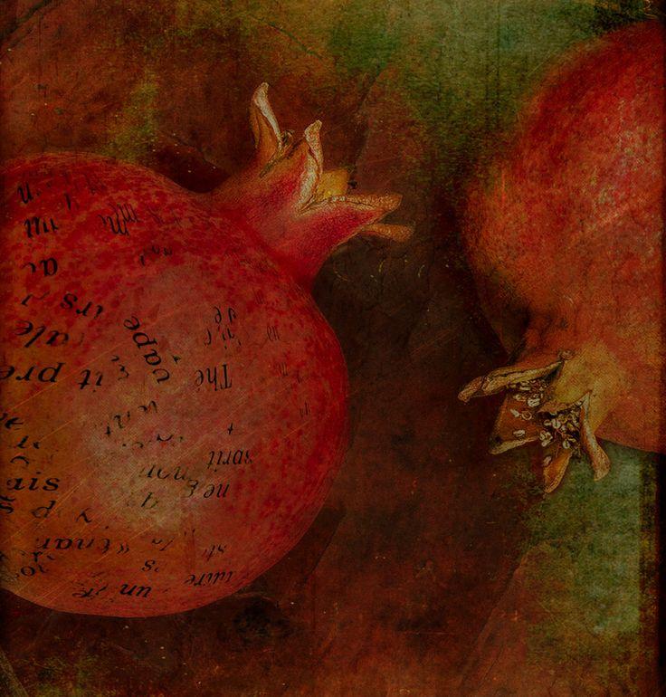 jean pierre delmur Série les Grenades.(Pomegranates).