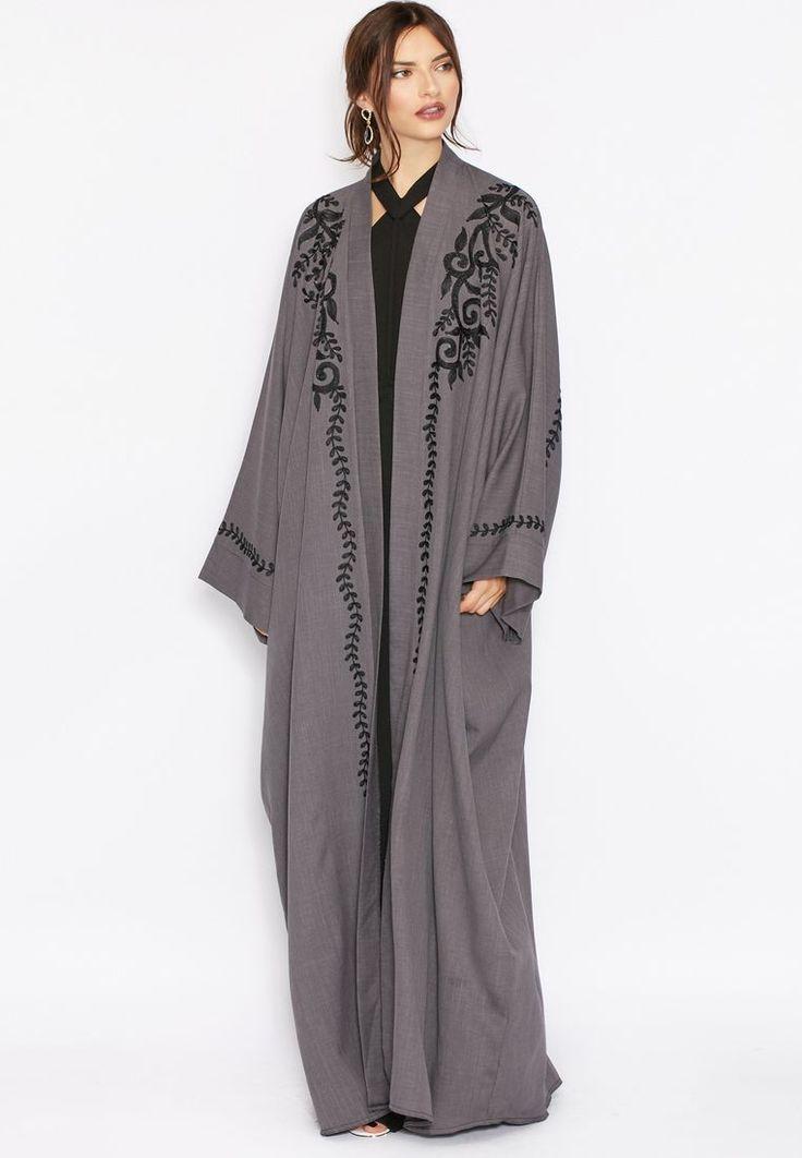 4 stylish Hayas closet abaya for modest look (6)